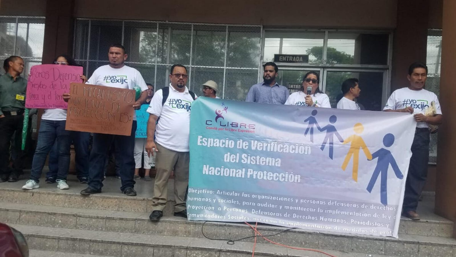 Hondurans protest the new agriculture program