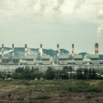 The Mae Moh coal-fired power plant is the largest of its kind in Thailand. It's also the site of a large open-pit lignite coal mine.