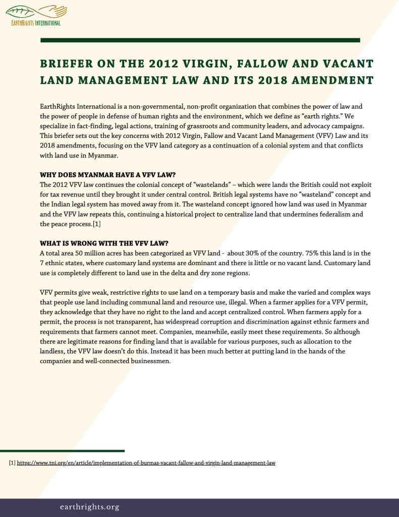 thumbnail of BRIEFER ON THE 2012 VIRGIN, FALLOW AND VACANT LAND MANAGEMENT LAW AND ITS 2018 AMENDMENT (1)