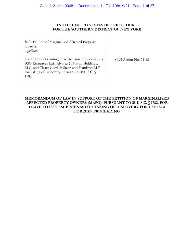 thumbnail of Koidu_Memorandum of Law