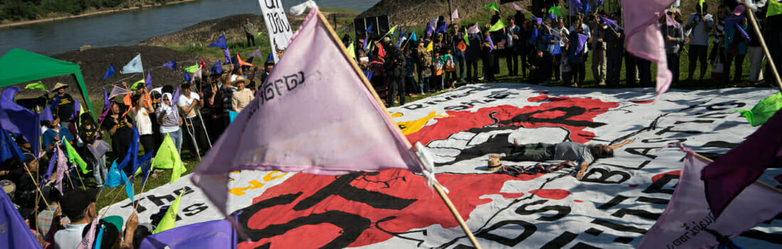 Solidarity Campaign to Stop Mekong Rapid Blasting Project