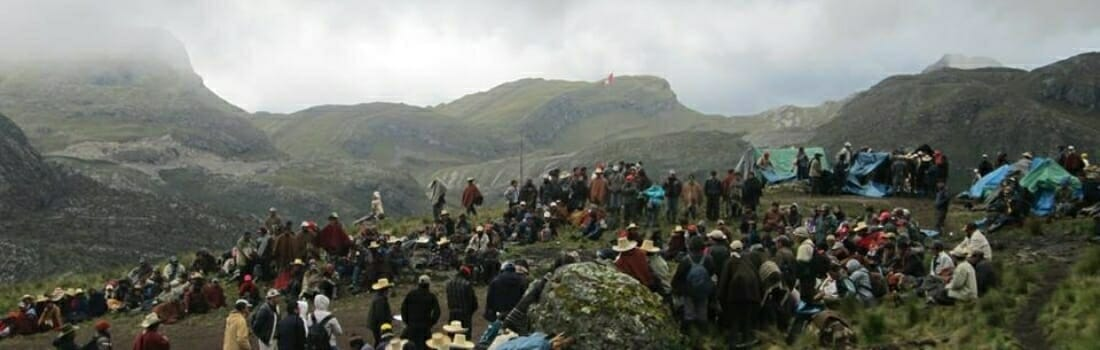 Renewed Protests at Conga Mine Again Result in Armed Police Response