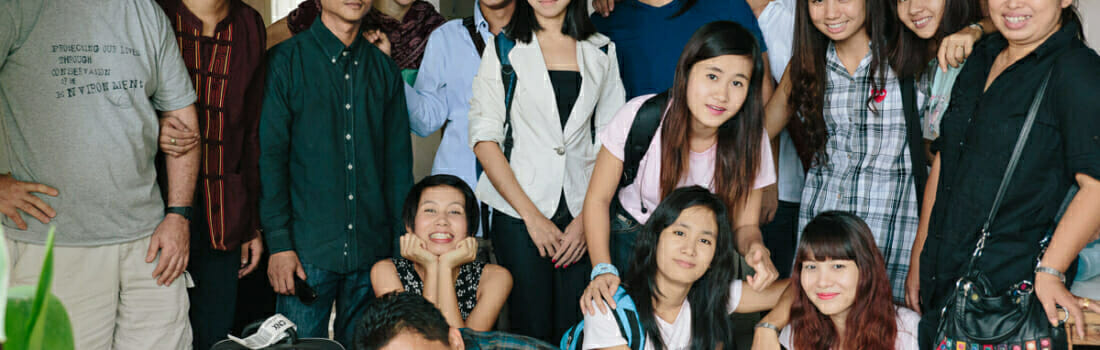 EarthRights School Myanmar Students Prepare for Field Work
