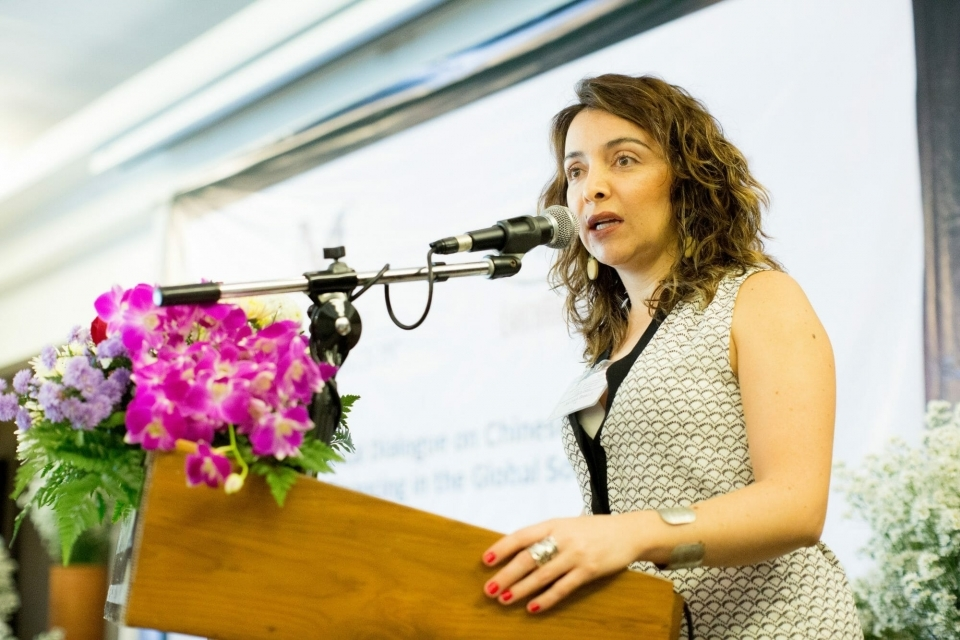Juliana Bravo, Amazon Program Director at ERI, speaks about the role of women earth rights defenders in the movement to monitor Chinese development projects in the Global South.