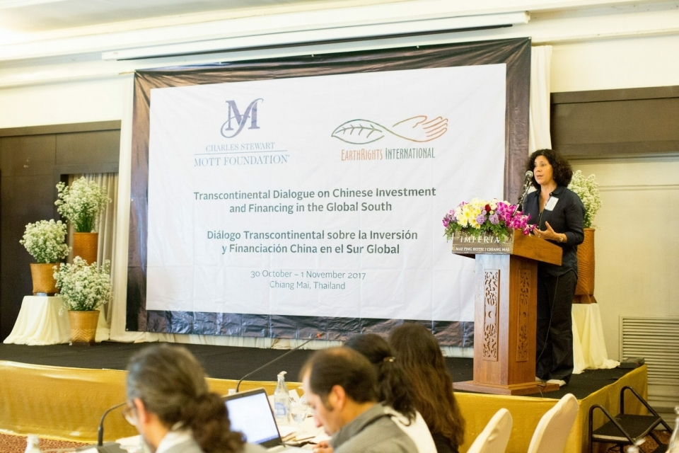 Paulina Garzon, Director of the China-Latin America Sustainable Investments Initiative, shares about previous dialogues and efforts to engage around issues of Chinese investment in the Global South.