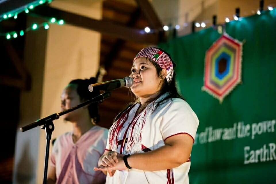 """""""No one among us was left behind. We are here at EarthRights School as living in our second family,"""" said Lamnutor Dangdaenwiman in her graduation speech. Lamnutor is an indigenous Thai-Karen youth who is working to support and enhance youth capacity to protect their communities from hydropower plants on the Salween River."""