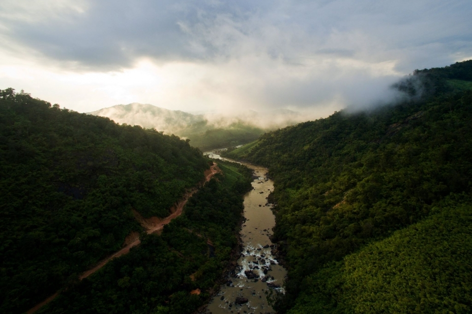 The Kalone Htar River in the Dawei area remains free-flowing but has been threatened by a large dam that would be used by Dawei Special Economic Zone.