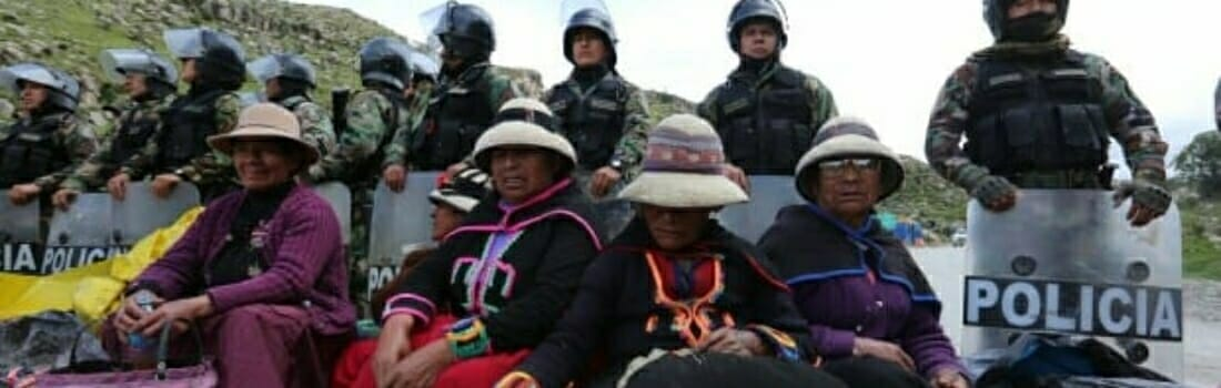 Las Bambas: presentan acción de amparo contra el convenio entre minera y la PNP