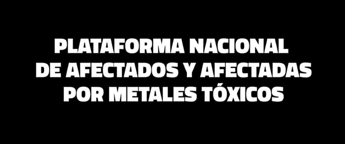 Frente al coronavirus, ATENCIÓN NACIONAL para los afectados por metales tóxicos