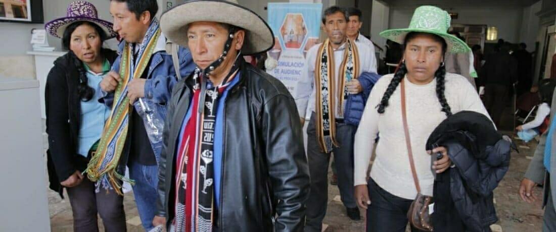 Defensores y Defensoras de Cusco son declarados inocentes