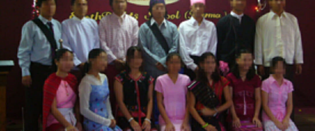 Congratulations to the EarthRights Burma School Class of 2008!