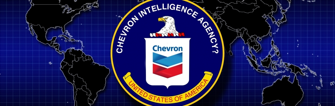 Are CIA Analysts Helping Chevron Spy on Activists?