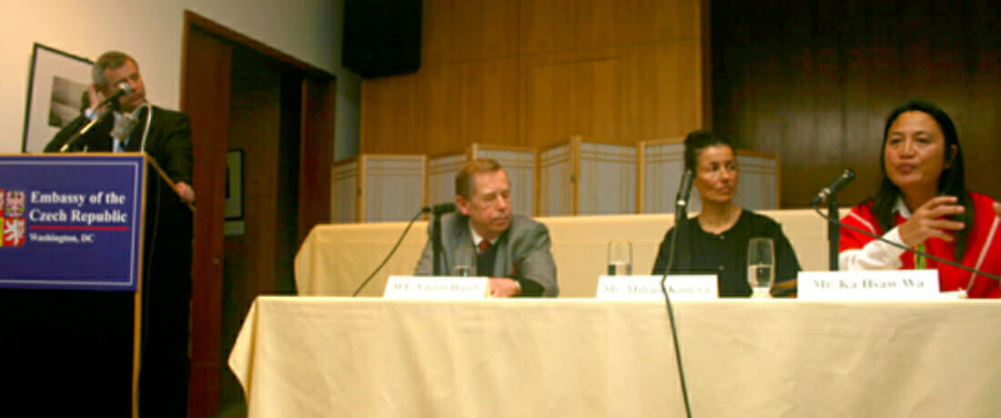 President Vaclav Havel Calls for Publicity and Pressure for Human Rights Reforms in Burma