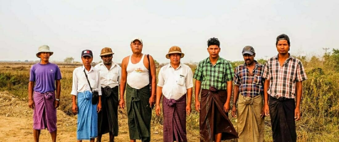 Thilawa: The 33 Farmers