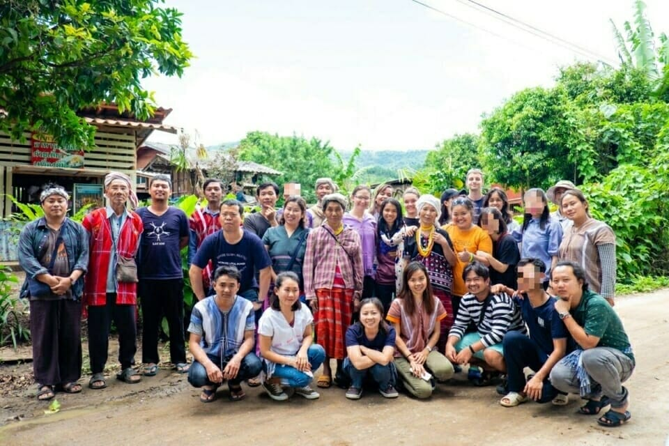 EarthRights School students recently travelled to the Ban Nong Tao community in northern Thailand to learn from indigenous Karen climate justice and land rights activists.
