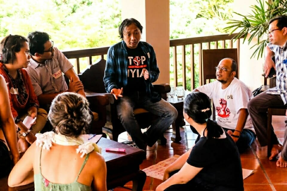 A group of earth rights defenders from Indonesia speak about the threats they face and the strategies they use. Welcoming participants from the Philippines, Indonesia, and elsewhere, the Forest Defenders Conference gave activists from the Mekong region a chance to broaden their networks and exchange ideas with earth rights defenders who work in other contexts.
