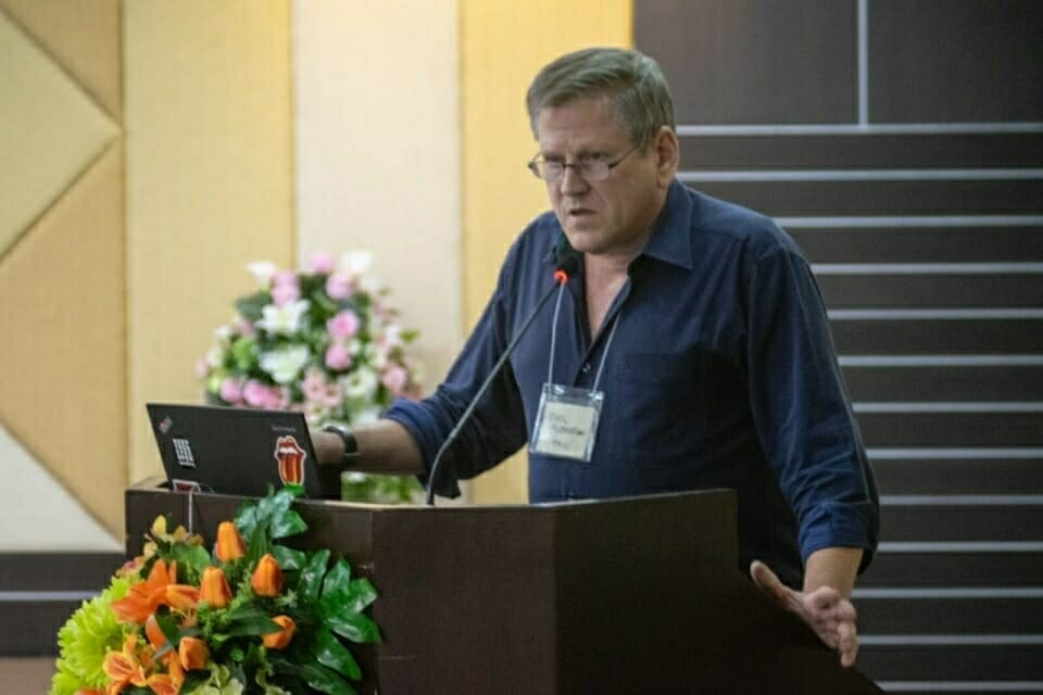 Phil Robertson, Deputy Asia Director of Human Rights Watch, gave the closing speech at the Forest Defenders Conference.