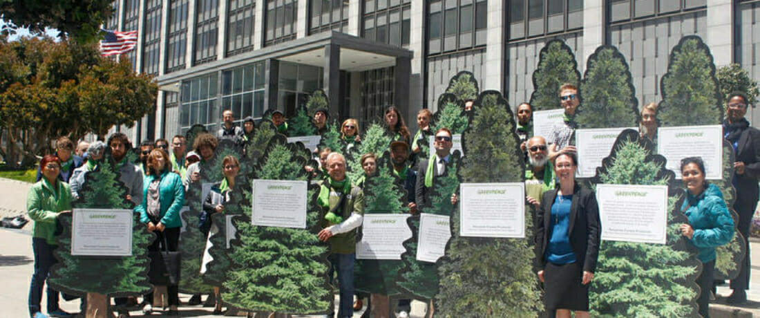 Federal Court Dismisses Logging Company's Racketeering Claims Against Greenpeace