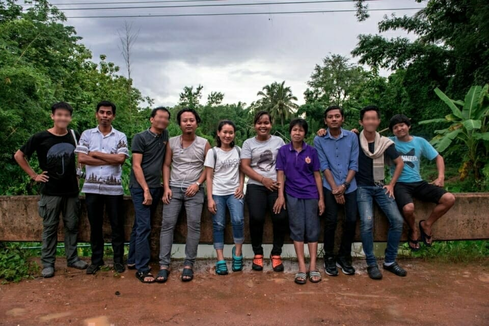 EarthRights School students learned from community members in Ban Haeng village who have so far prevented a mining company from developing lignite coal deposits in their area. The villagers' primary tactic is to organize peaceful blockades of the roads through the village, denying all mining vehicles access to the areas where coal has been found.