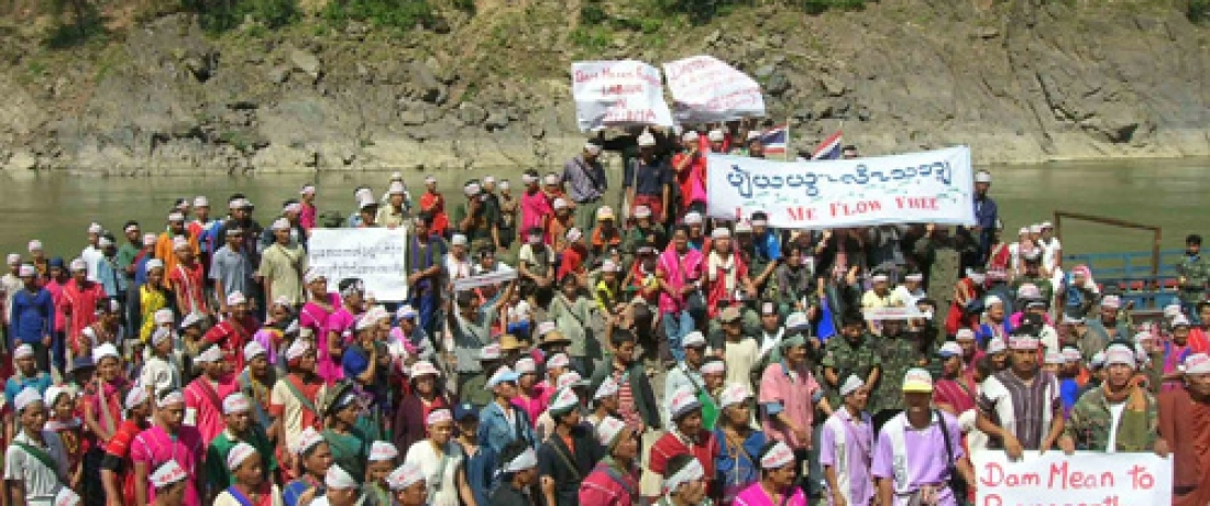 Villagers in Burma Reject Plans to Dam the Salween River