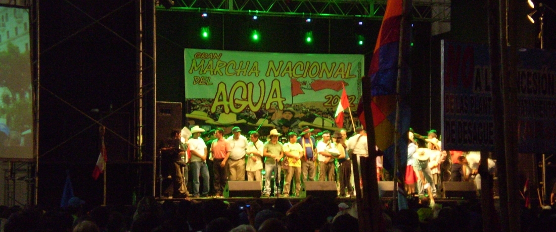 Peru's Grand March for the Right to Water and Life Reaches Lima