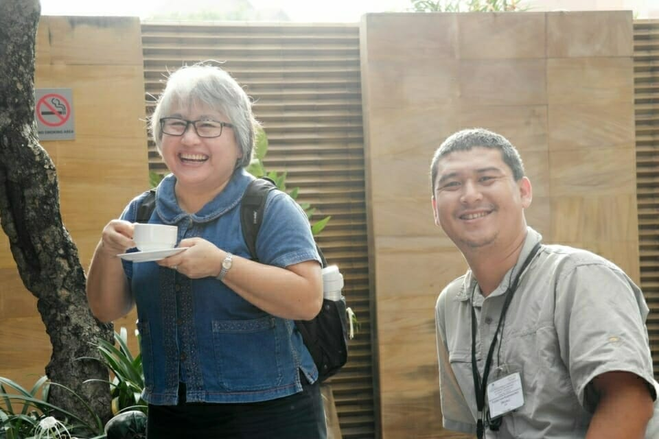 Professor Nuthamon Kongcharoen of Chiang Mai University with Neung, Mekong Legal Associate at ERI.