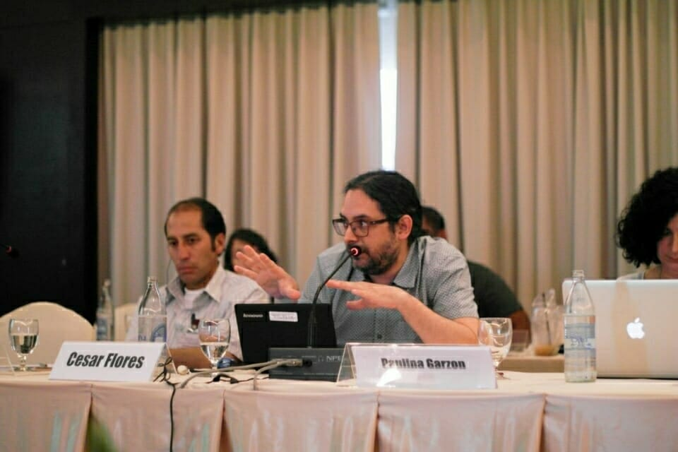 Cesar Flores, Economist and Anthropologist at CooperAcción, raises questions about challenges in engaging  with Chinese developers in Peru.
