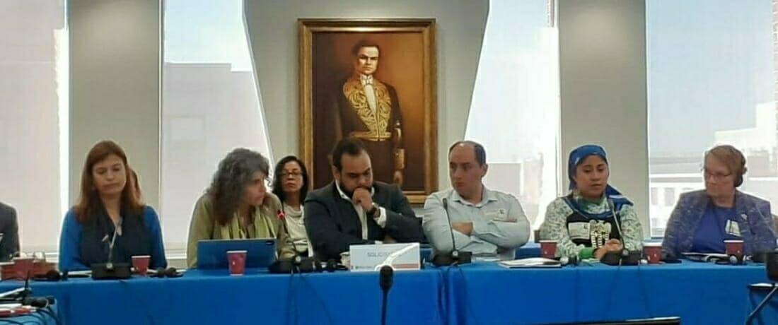Comisión Inter-Americana de Derechos Humanos Realiza Audiencia sobre Defensores Ambientales Criminalizados