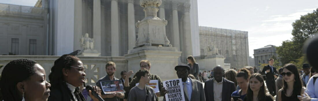 After Kiobel, Hope Remains for Corporate Human Rights Lawsuits