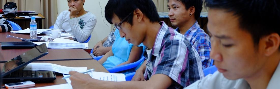 Mining Workshop for Civil Society Leaders in Myanmar