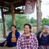 """Villagers have established checkpoints in residential and agricultural areas to prevent the company from accessing their land and starting operations. They are putting pressure on the company with the words on their banners – """"Stop Mining""""."""