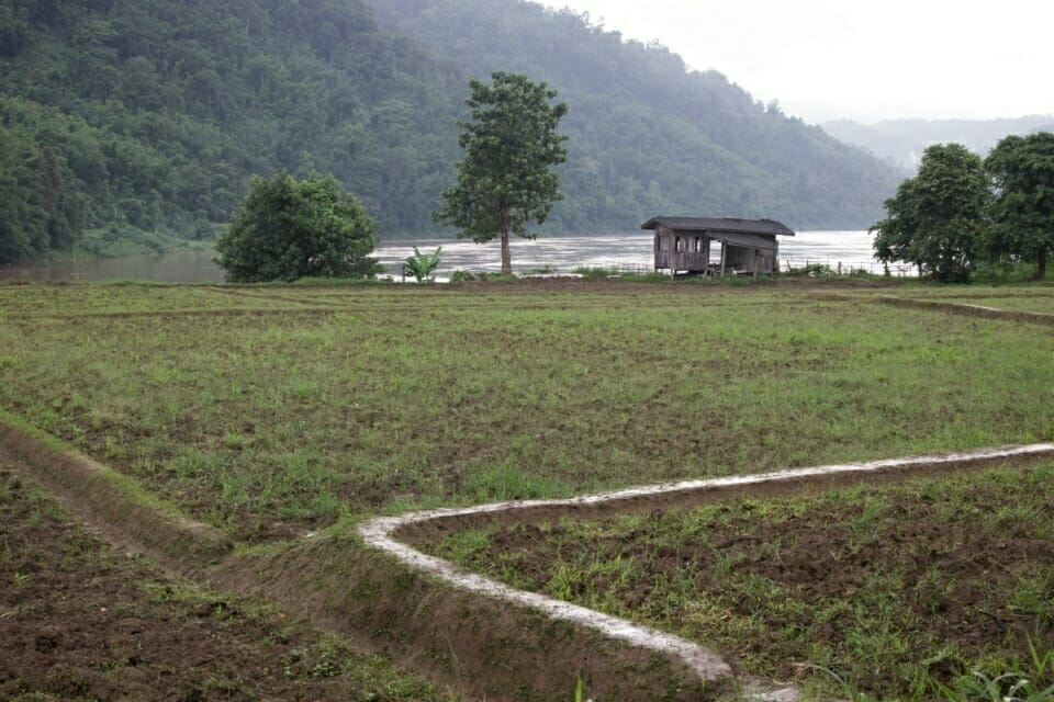 Ban Sob Moei, Mae Hong Son Province, Thailand. This village will be flooded if the Hat Gyi Hydropower Dam is built. The dam is slated to be built on the Salween River in Myanmar, 47 kilometers from Thailand- Myanmar border.