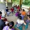 EarthRights School  Mekong students – learn about local knowledge, campaigning, networking and human rights impacts of the Hat Gyi Dam from the villagers.