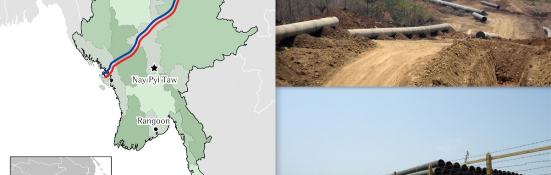 Photo essay: Selected impacts of the Shwe natural gas & Myanmar-China oil transport projects