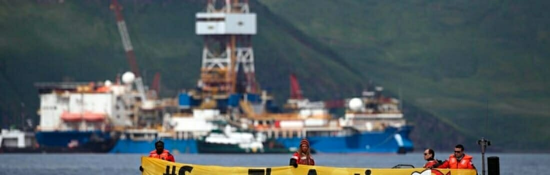 Shell Sues to Stop Greenpeace Protesters
