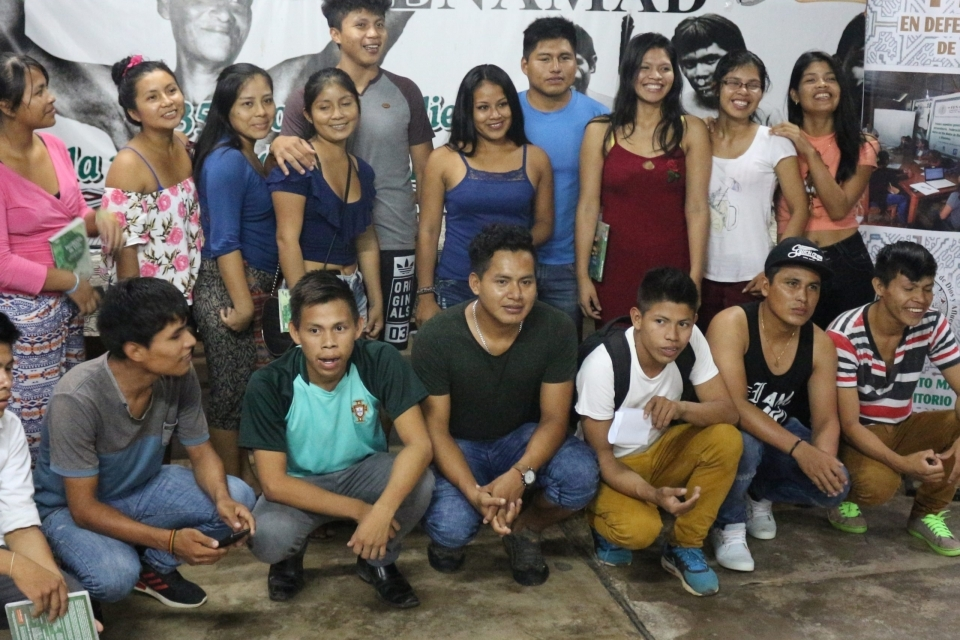 Twenty indigenous youth participated in the workshop.