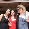 Board Member Astrid Puentes with Amazon Program Director Juliana Bravo Valencia and Communications Manager Valentina Stackl.