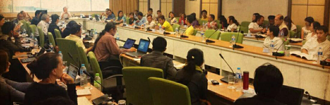 """""""Who will take responsibility?"""": Communities Testify about Dawei SEZ at Thai Human Rights Commission"""