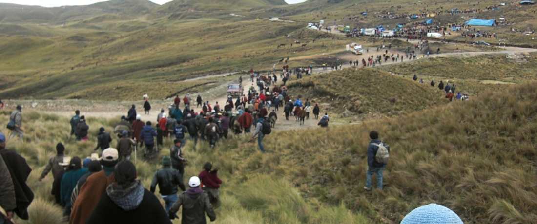 Federal Court Orders Newmont Mining to Turn Over Evidence to Peruvian Wounded in Protest