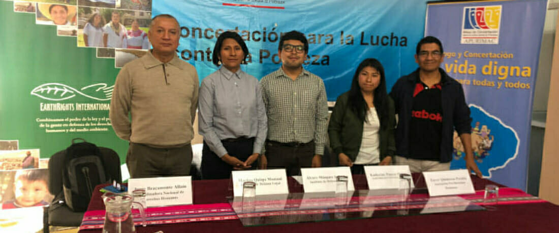 Organización social de Cotabambas presenta demanda contra convenio entre la Policía Nacional y Minera Las Bambas S.A.