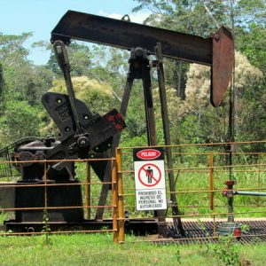 Canaan oil facilities. Photo courtesy of Ronald Suarez.