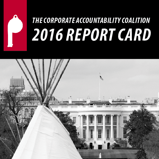2016 congressional report card on corporate accountability